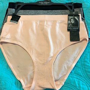 NWT Kathy Ireland 3 pack plus size panties